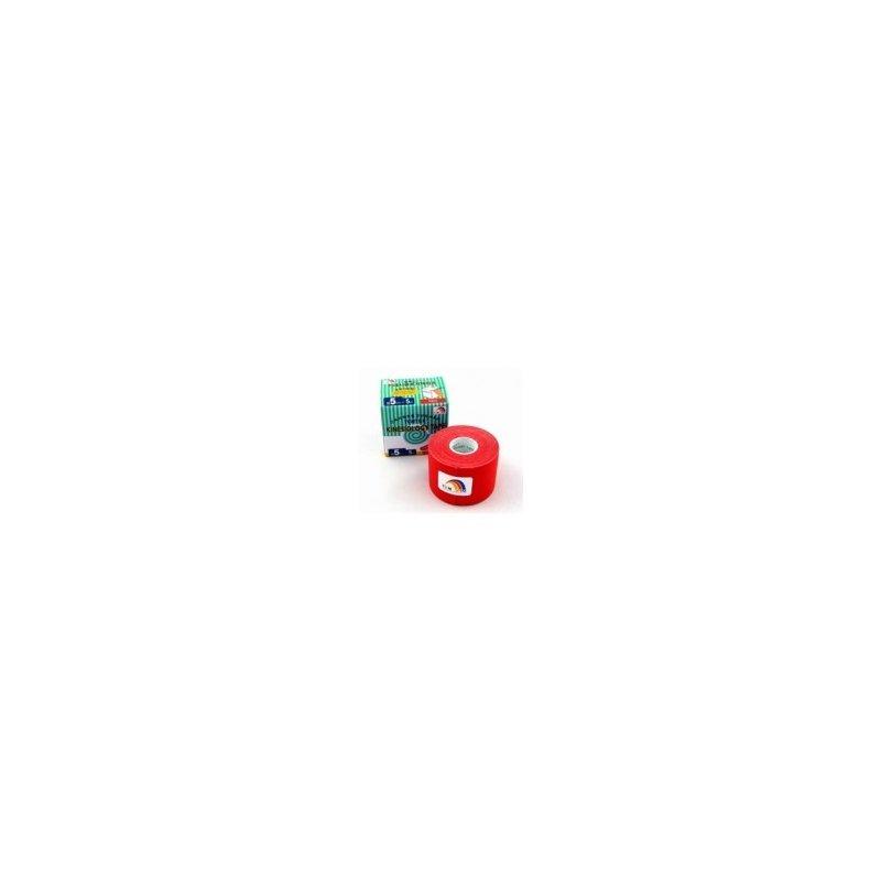 TEMTEX Tourmalin - tejpovací páska tourmalin červená 5 cm x 5 m