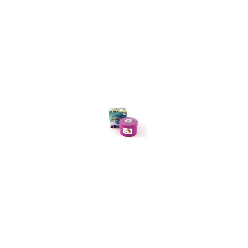 TEMTEX Tourmalin - tejpovací páska tourmalin fialová 5 cm x 5 m