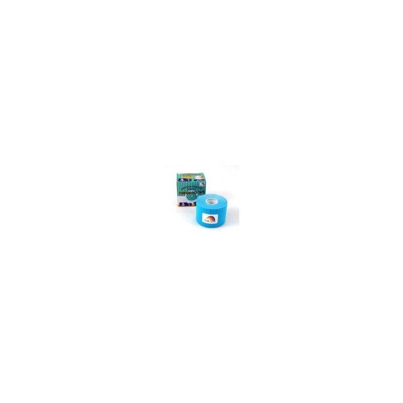 TEMTEX Tourmalin - tejpovací páska tourmalin modrá 5 cm x 5m