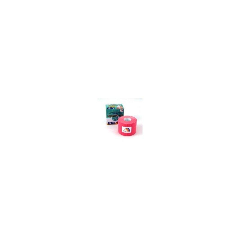 TEMTEX Tourmalin - tejpovací páska tourmalin růžová 5 cm x 5 m