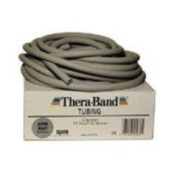 THERABAND Tubing - super silný stříbrný 7,5 m