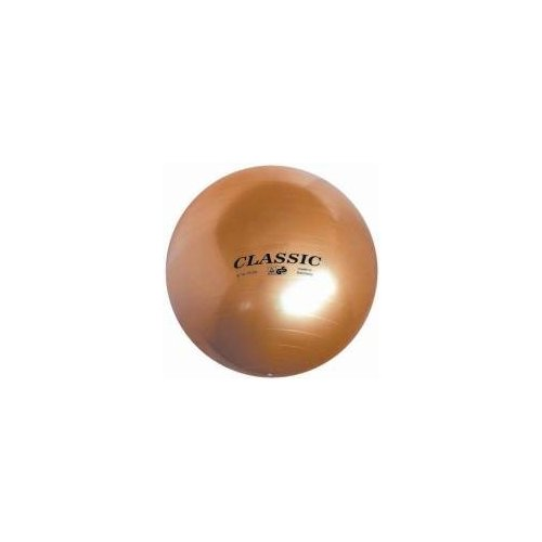 JOHN Classic Gymnastický míč průměr 75 cm - zlatý