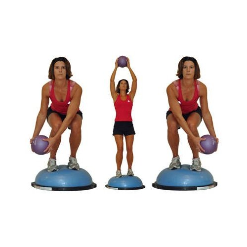 BOSU Cvičební balanční pomůcka