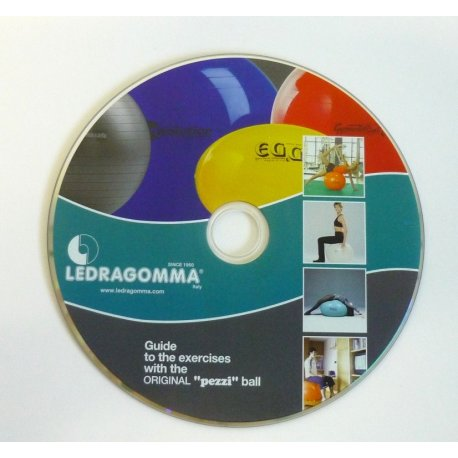 LEDRAGOMMA DVD - Velké gymnastické míče