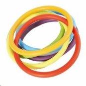 GONGE kroužek - gumové kroužky - různé barvy