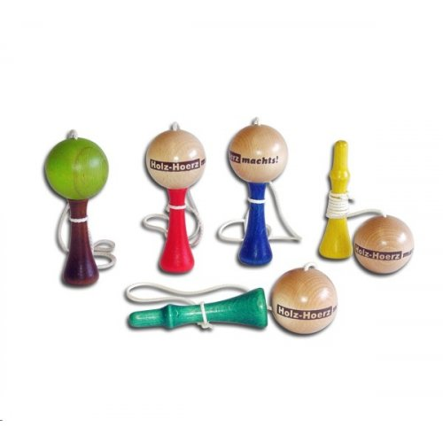 HOLZ - HOERZ Lapač míčků - dřevěný - různé barvy