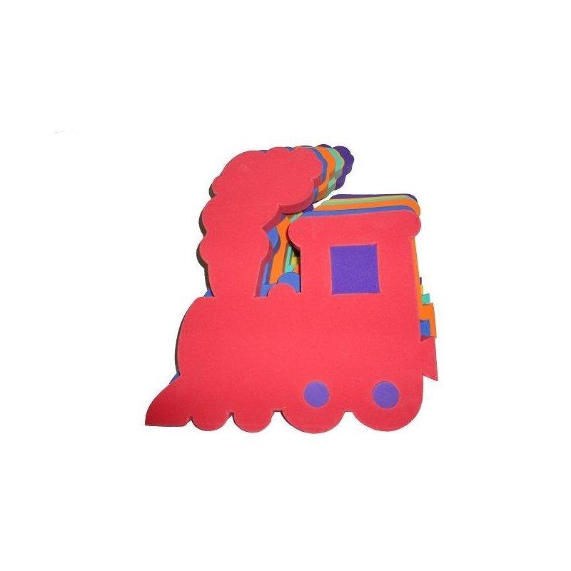 Plavecká deska Mašinka 400 x 390 x 38