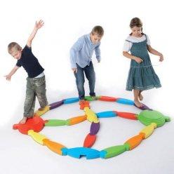 GONGE Řeka s ostrůvky - koordinační hra