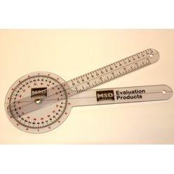 Goniometr 30cm/360° plastový