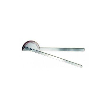 Goniometr 35cm/180° kovový
