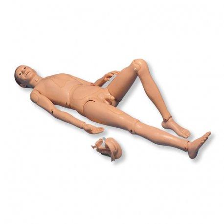 Simulátor pacienta k ošetřování - figurína pacienta