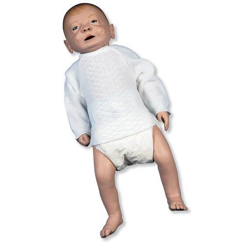 Mužský model kojence k ošetřování