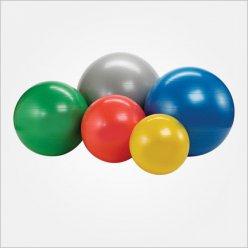 Gymball odolné ABS provedení průměr 65 cm - výběr barev