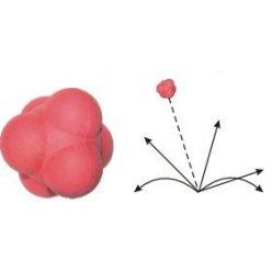 Neposlušný agilní atom míč- dvě velikosti