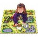 Safari skládačka puzzle pěnové, podložka