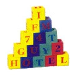 Kostky abeceda + čísla EVA pěna