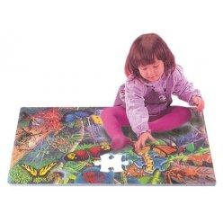 Motýli puzzle pěnové PN 150P