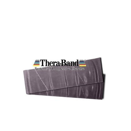 THERA-BAND Thera band posilovací pás speciálně silný černá