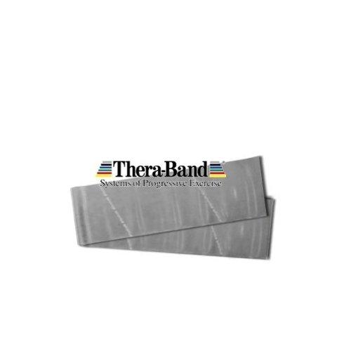 THERA-BAND Thera band posilovací pás super silný STŘÍBRNÝ
