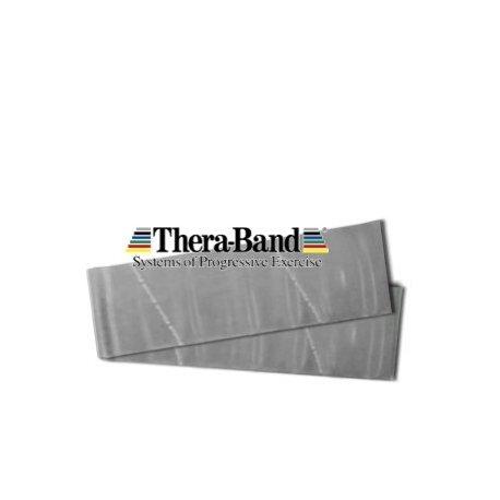 THERA-BAND Thera band posilovací pás super silný stříbrná