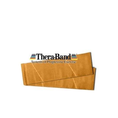 THERA-BAND Posilovací pás maximálně silný zlatá - metráž