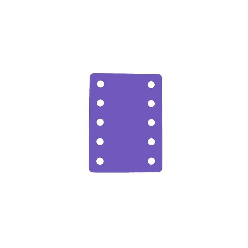 Plavecký ponton - pěnová deska do bazénu fialová