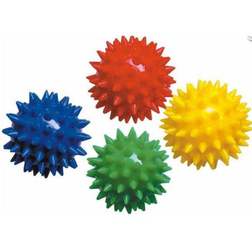 Masážní míček s bodlinami - velikost 5 cm - mix barev