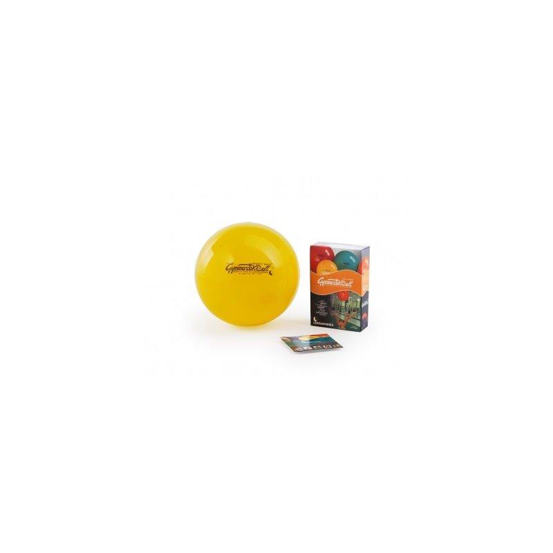 LEDRAGOMMA GymnastikBall standard průměr 75 cm žlutá