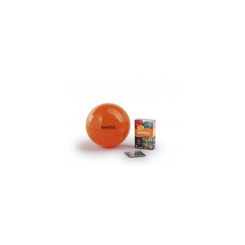 LEDRAGOMMA GymnastikBall standard průměr 75 cm oranžová