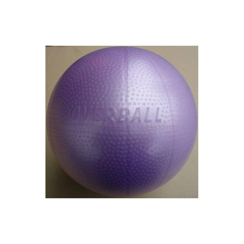 Over ball v krabičce 25 cm fialový