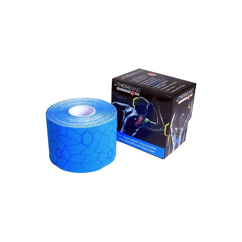 TheraBand™ Kinesiology Tape 5cm x 5m - modrá