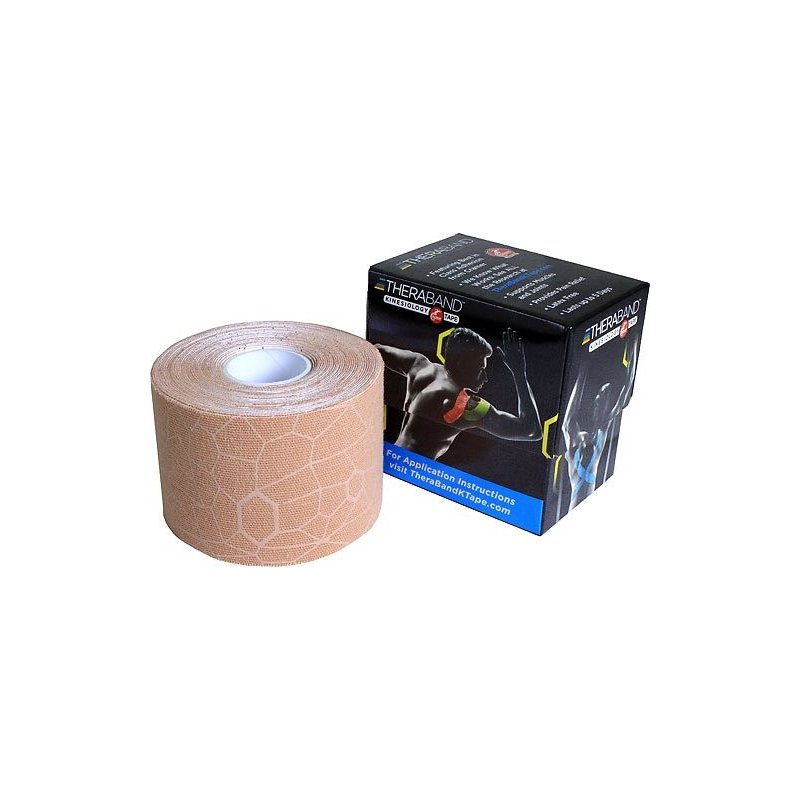 TheraBand™ Kinesiology Tape 5cm x 5m - béžová