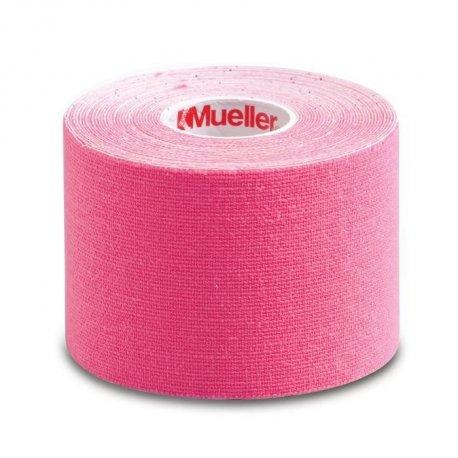 Mueller Kinesiology Tape tejpovací páska 5 cm x 5 m růžová