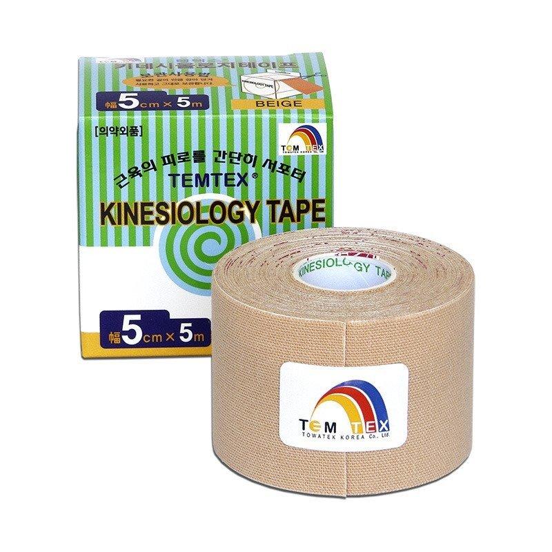 TEMTEX Classic - tejpovací páska 5 cm x 5m - béžová