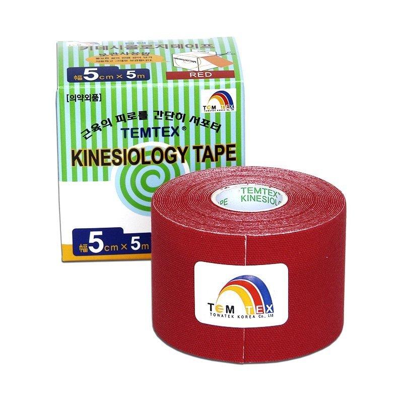 TEMTEX Classic - tejpovací páska 5 cm x 5m - červená