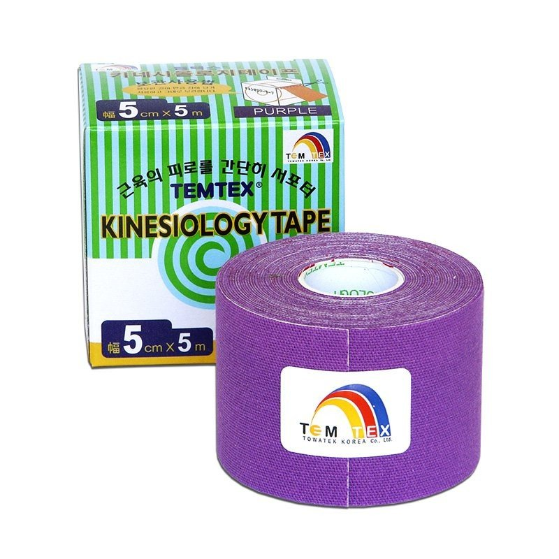 TEMTEX Classic - tejpovací páska 5 cm x 5m - fialová