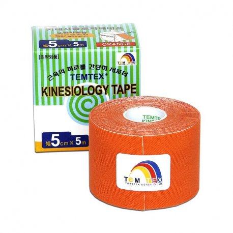 TEMTEX Classic - tejpovací páska 5 cm x 5m - oranžová