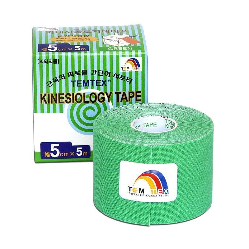 TEMTEX Classic - tejpovací páska 5 cm x 5m - zelená