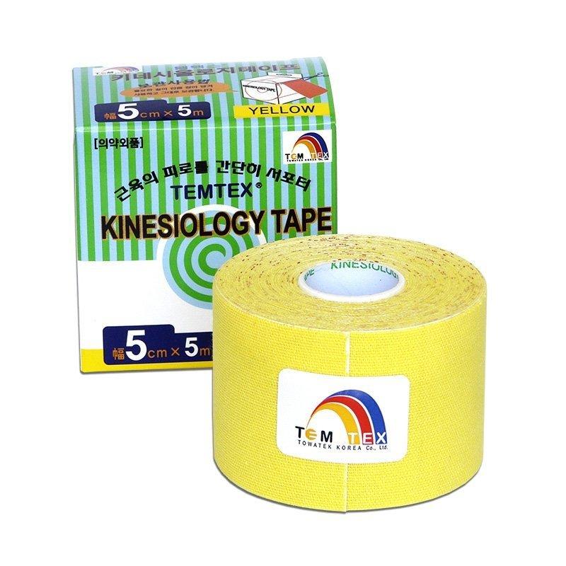 TEMTEX Classic - tejpovací páska 5 cm x 5m - žlutá