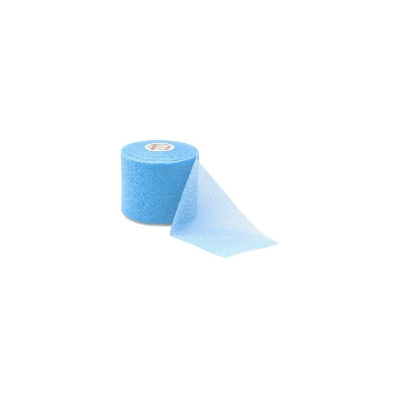 MUELLER MWrap® Colored, podtejpovací molitanová páska 7cm x 27,4m modrá