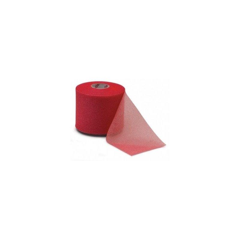 MUELLER MWrap® Colored, podtejpovací molitanová páska 7cm x 27,4m červená