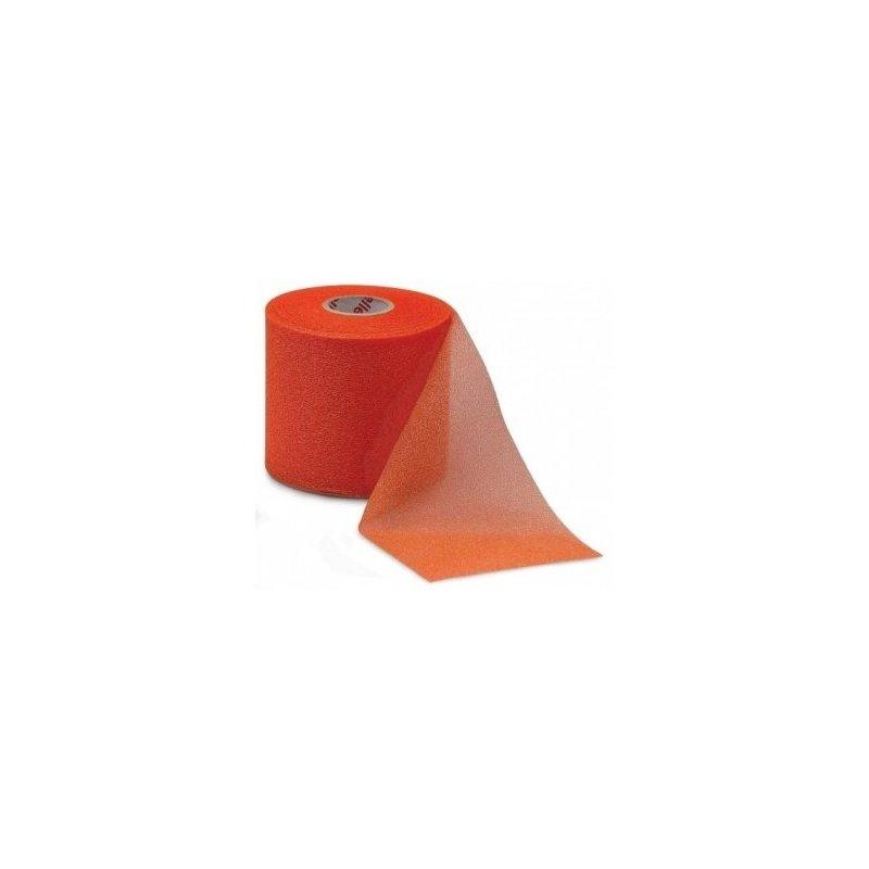 MUELLER MWrap® Colored, podtejpovací molitanová páska 7cm x 27,4m oranžová