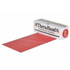 THERABAND Posilovací pás 5,5 m červený