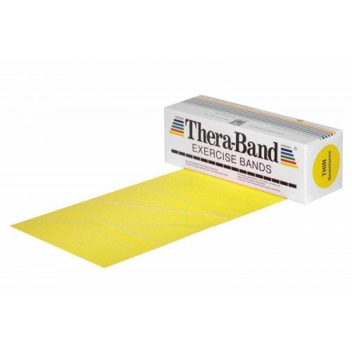 THERA-BAND Posilovací pás 5,5 m žlutý