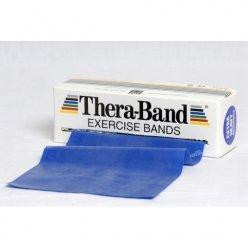 THERABAND Posilovací pás 5,5 m modrý