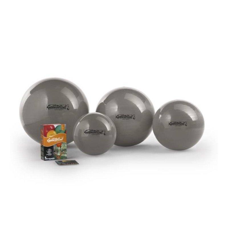 Velký gymnastický míč Ledragomma je vhodnou pomůckou pro posílení zádového svalstva