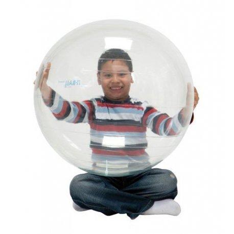 Průhledný gymnastický míč OptiBall