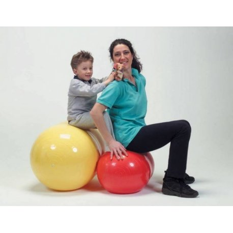 Velký oválný míč Physio Roll má široké využití