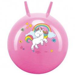 JOHN Skákací míč Hop Unicorn 45 - 50 cm (jednorožec)