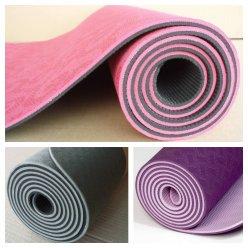 TPE yoga mat PROFI long 181cm, nesmekavá
